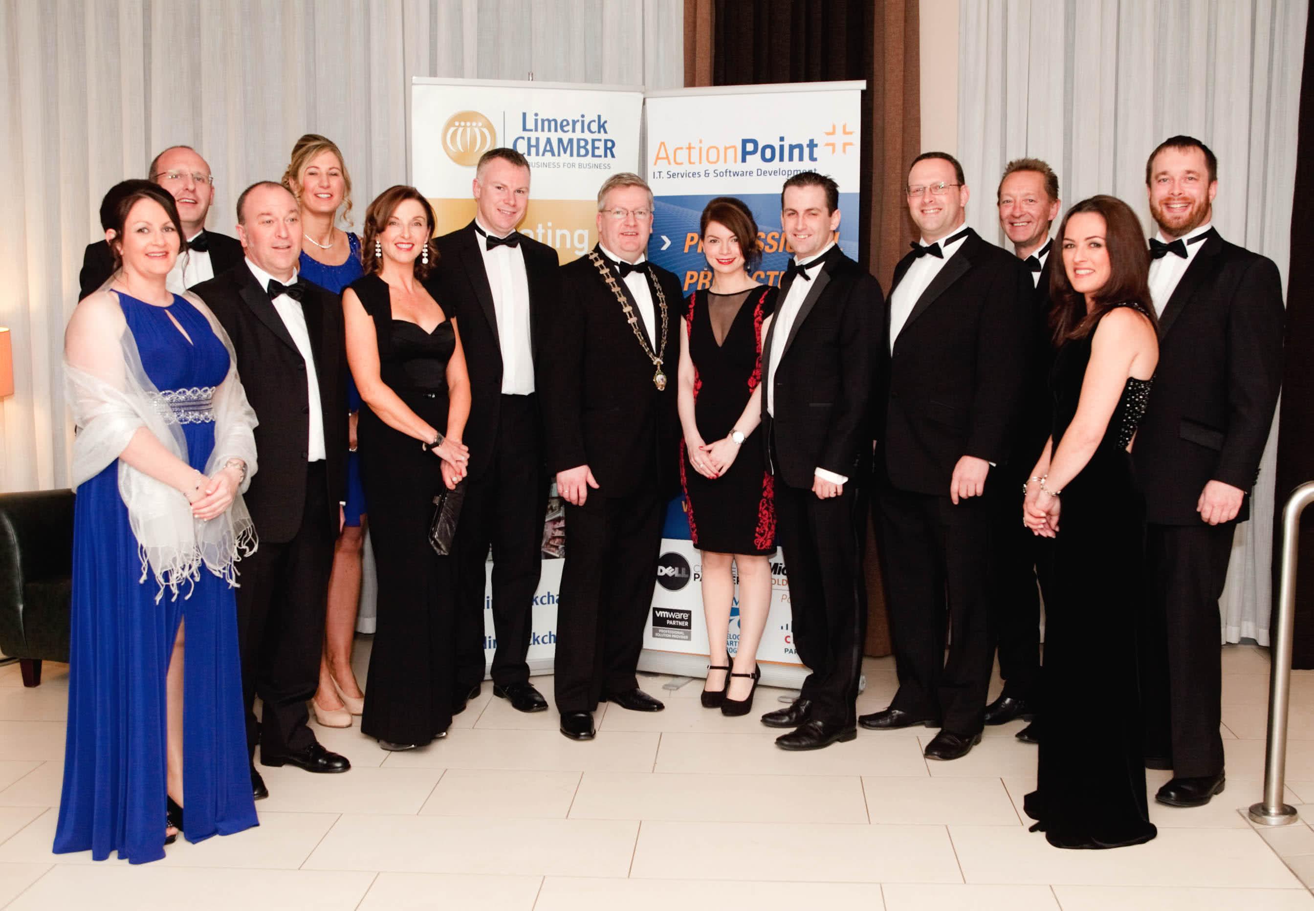 Action Point sponsor Limerick Chamber Awards