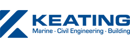 Keating Construction-blue logo